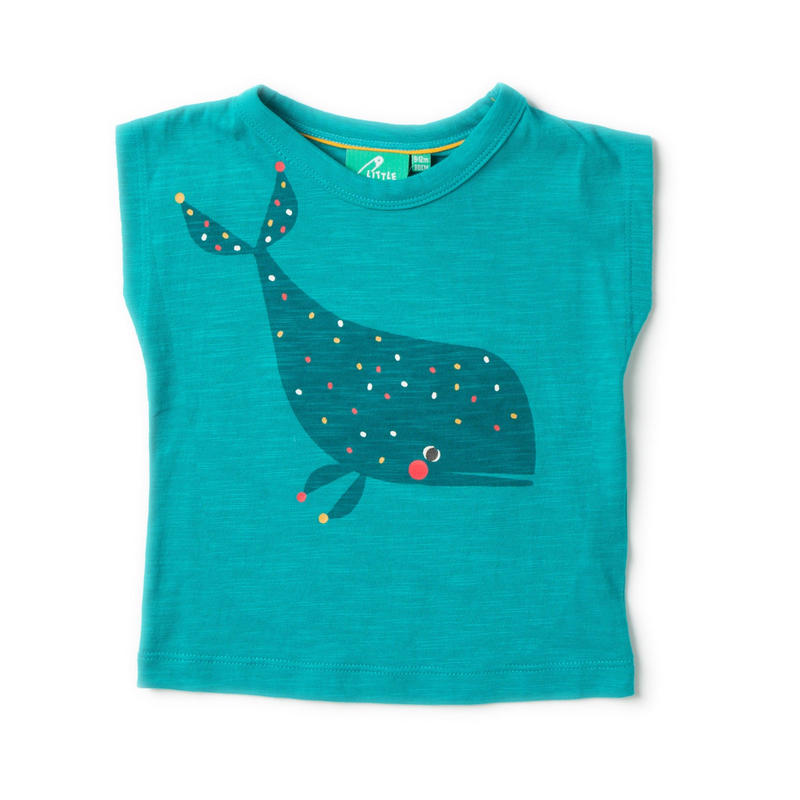 Little Green Radicals Whale Breezy T 110cm(4-5y)