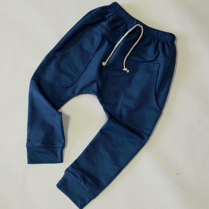 コットンパンツ Blue 100~130cm