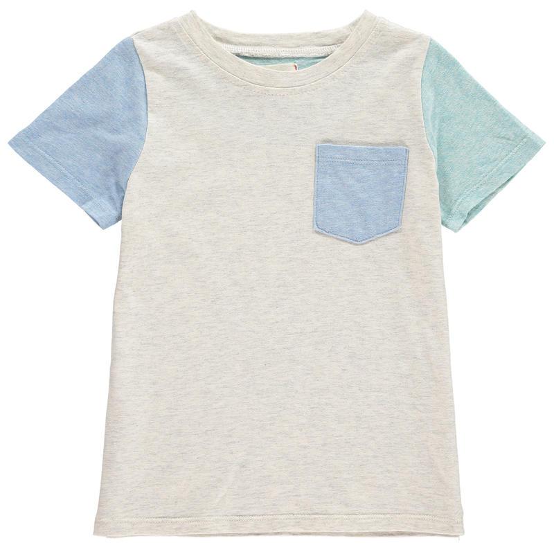 Me & Henry カラーブロック Tシャツ 104cm/ 110cm/ 116cm/ 122cm/ 132cm/ 135cm