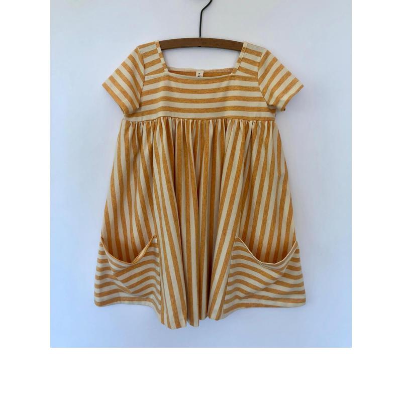 Vignette Rylie Dress Sunshine 104cm/ 116cm/ 122cm/ 128cm/ 135cm