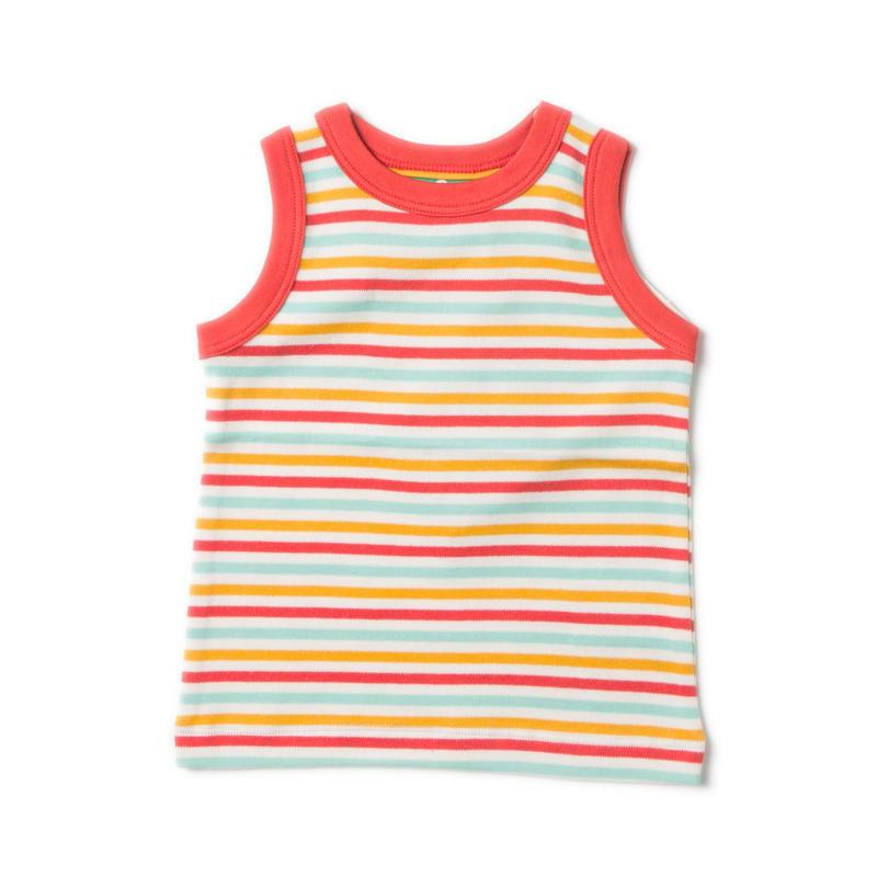 Little Green Radicals Raibow Sunshine Vest 104cm/ 116cm
