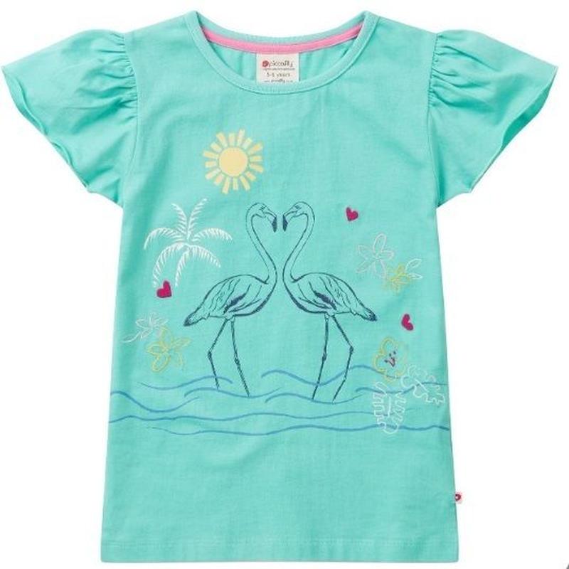 Piccalilly Flamingo  Tshirt 98/ 104/ 110/ 116/ 122/ 128cm