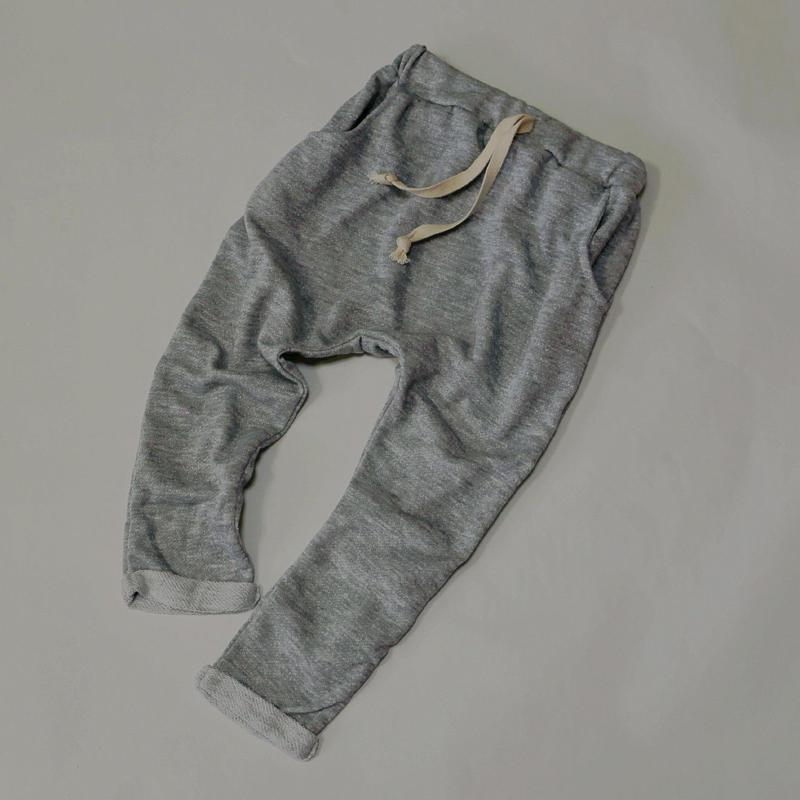 柔らかスウェットパンツ Light Grey 110cm~130cm