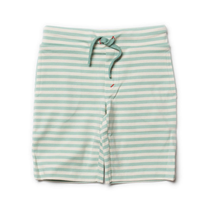Little Green Radicals Duck Egg Blue Stripe Beach Shorts 98cm/ 104cm/ 110cm/ 116cm/ 122cm