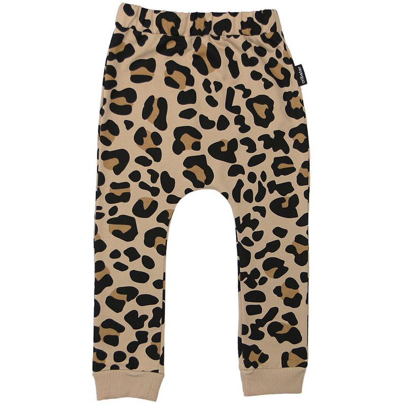 Cribstar Leopard Leggings Beige 80/ 92/ 98/ 104/ 110/ 116/ 122cm