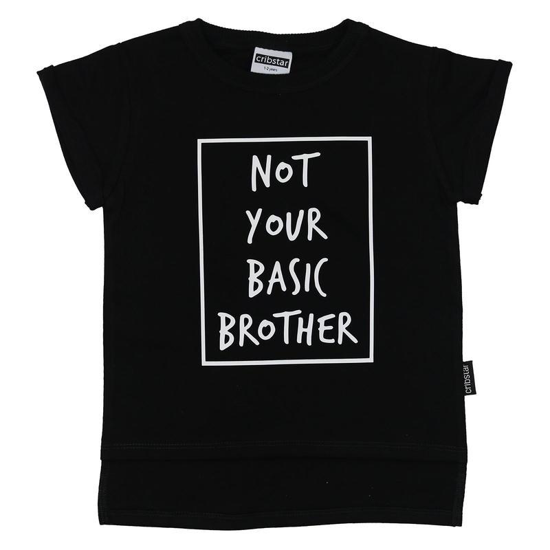Cribstar NYB Brother T Black 80/ 92/ 98/ 104/ 110/ 116/ 122/ 128cm