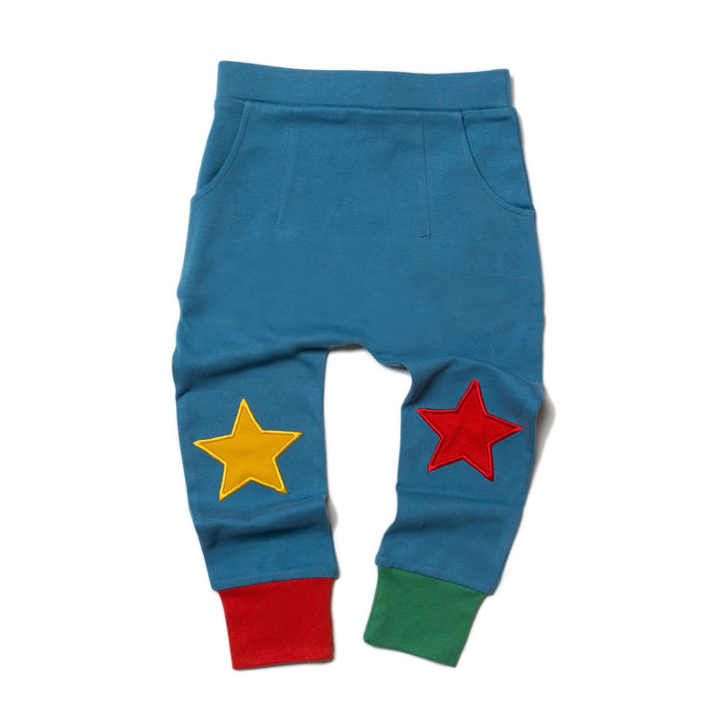 Little Green Radicals Ocean Blue Star Joggers 92cm/ 98cm/ 104cm/ 110cm/ 116cm
