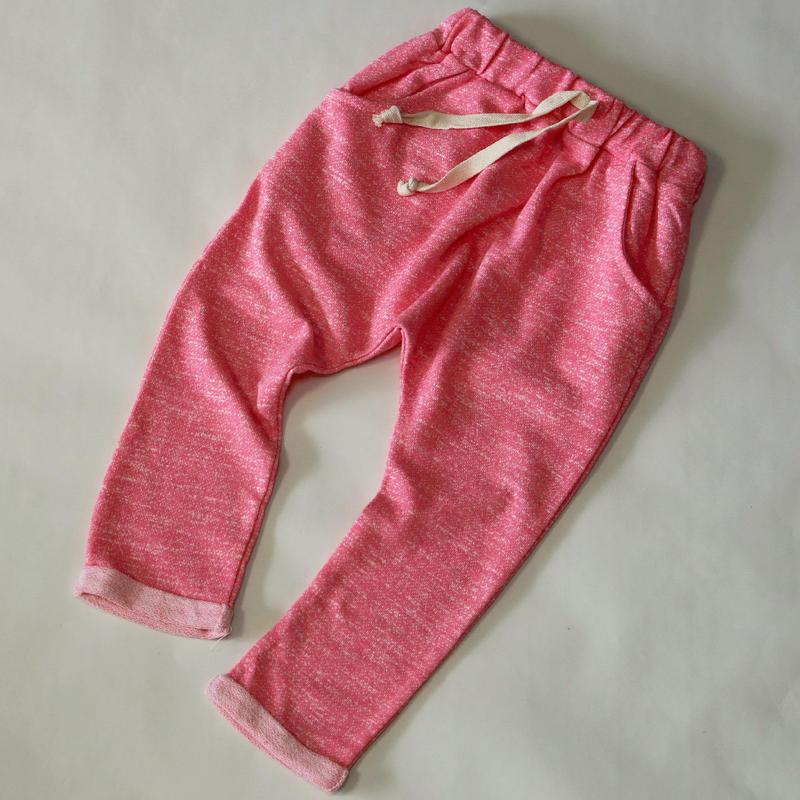 ざっくりスウェットパンツ Pink 90cm~120cm