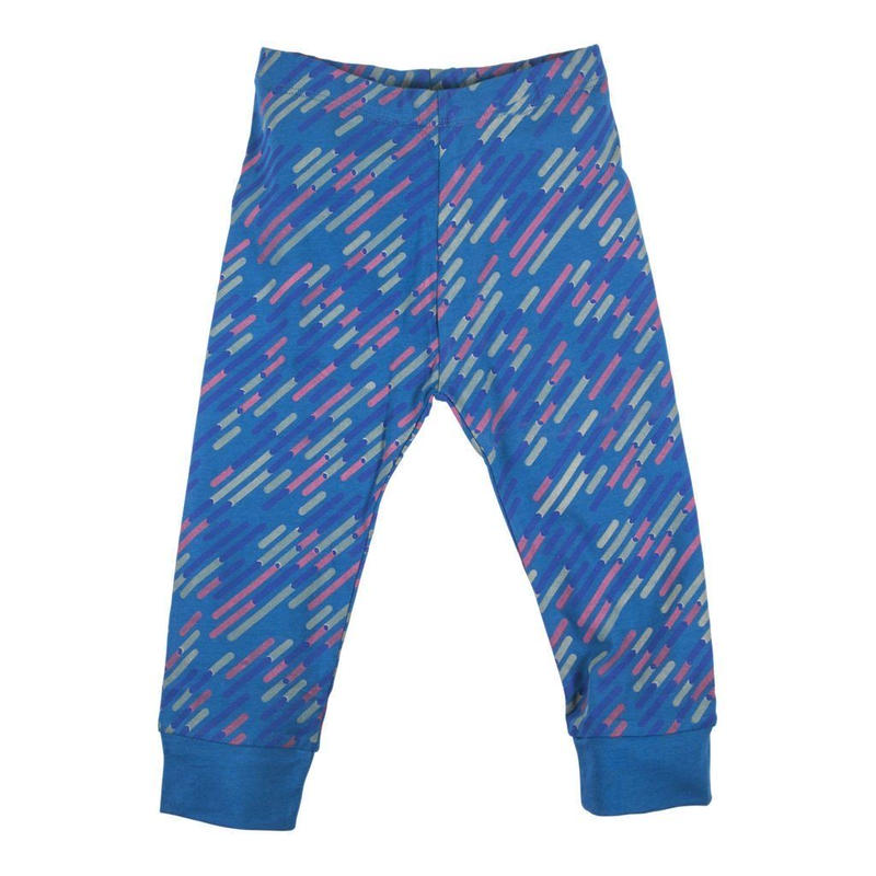 HUGABUG Supersoft Leggings Peacock Blue 98/ 104cm
