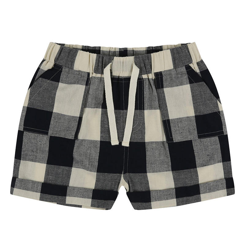 Turtledove London CHECK WOVEN SHORTS 92cm/ 98cm/ 104cm/ 110cm/ 116cm