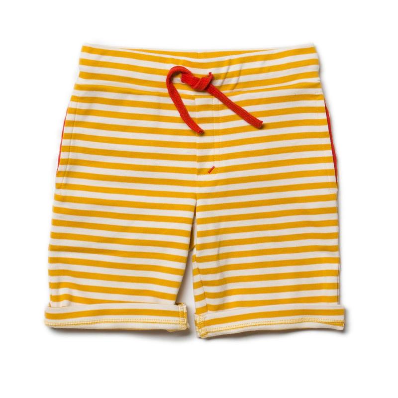 Little Green Radicals Gold Stripe Beach Shorts 98cm/ 104cm/ 110cm/ 116cm/ 122cm/ 128cm