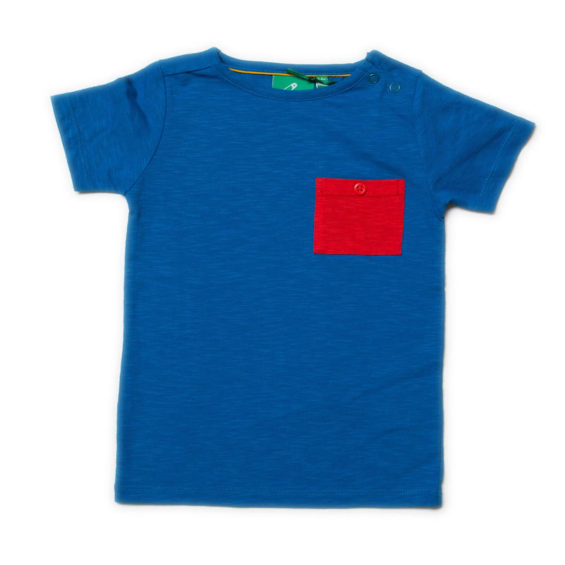 Little Green Radicals Blue Pocket T 98cm/ 104cm/ 110cm/ 116cm/ 122cm/ 128cm