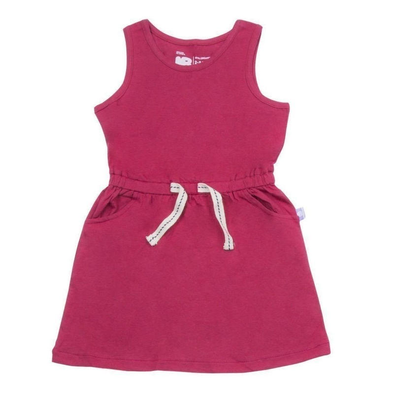 HUGABUG Jersey Dress Pink 98/ 104cm