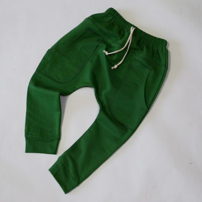 コットンパンツ Green 90~120cm