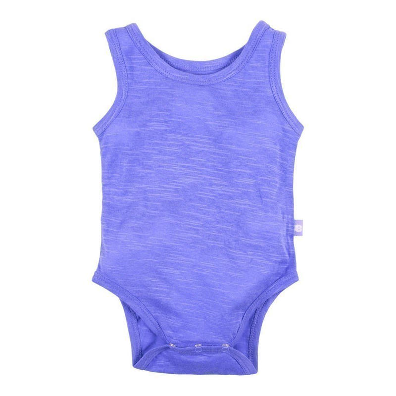 HUGABUG Organic Cotton Bright Color Body Blue 80cm(6-12m)