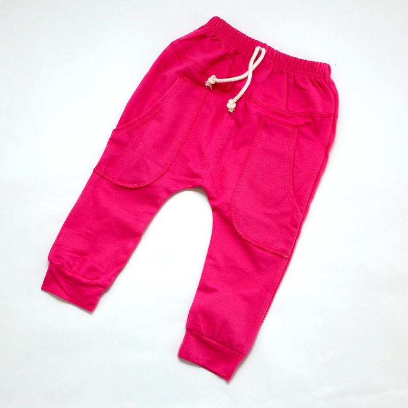 コットンパンツ Pink 90~110cm