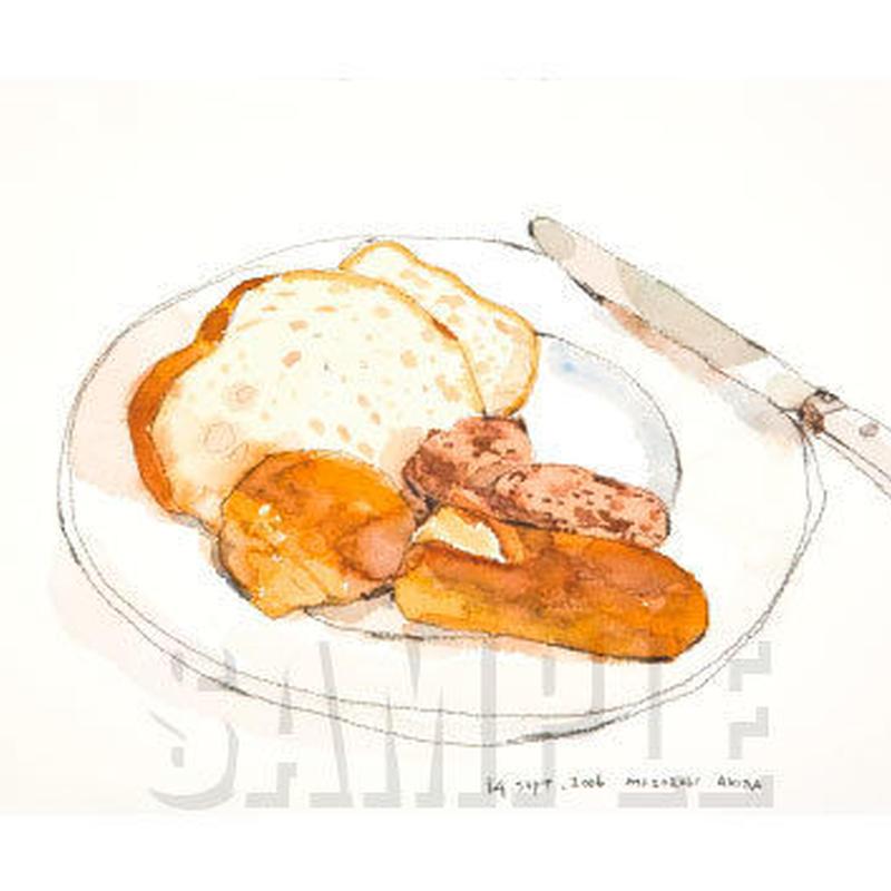 朝のパン MA003