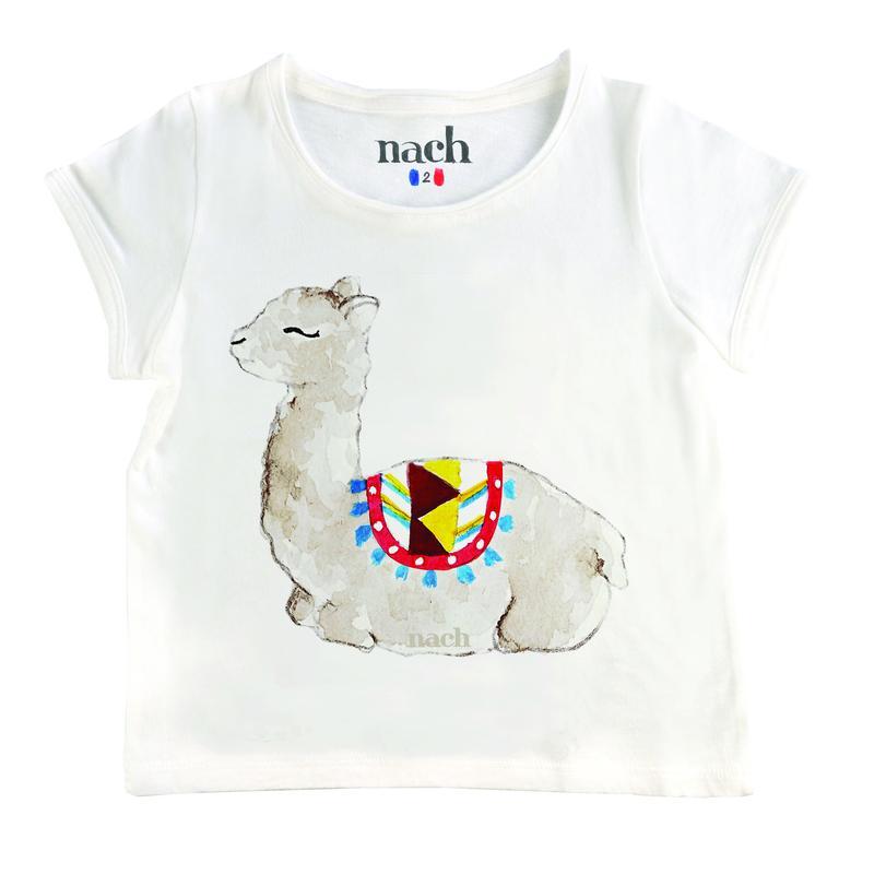 ベビー&キッズサイズ ラマTシャツ NACH