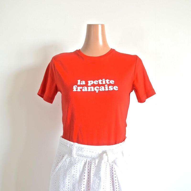 ロゴTシャツ  red   LA PETITE FRANCAISE
