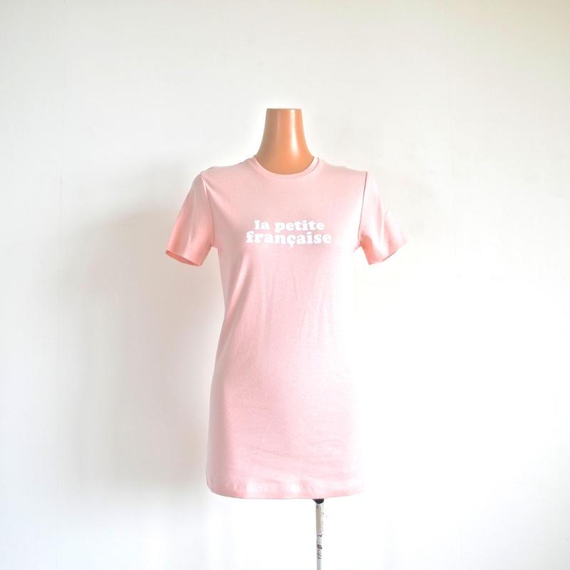 ロゴTシャツ pink   LA PETITE FRANCAISE