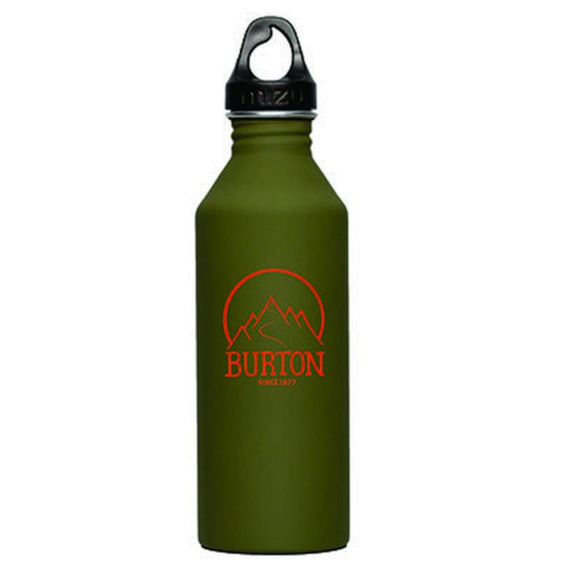 MIZUボトル M8 Burton 1977 Glossy Green