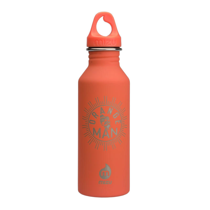 MIZU Orange Man Bottle M5 Soft Touch Peach