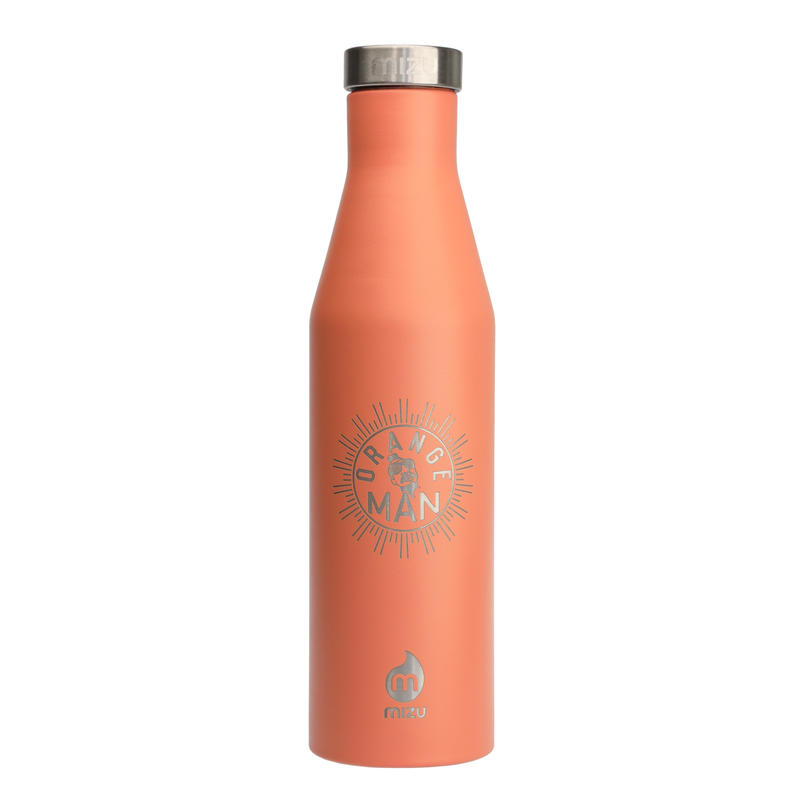 MIZU Orange Man Bottle S6  Enduro Peach