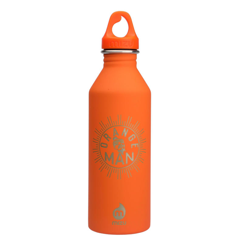 MIZU Orange Man Bottle M8 Soft Touch Orange