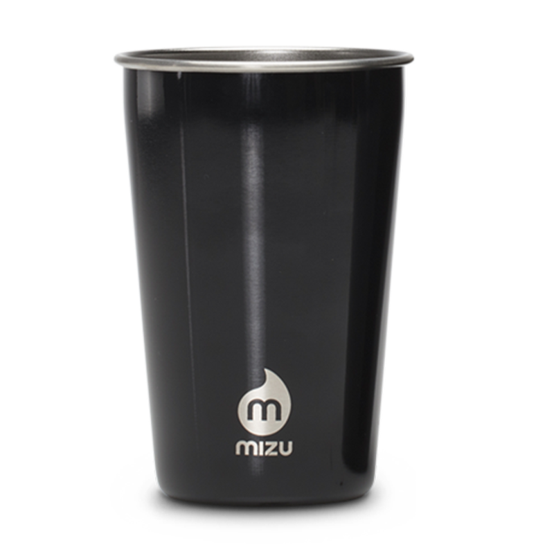 MIZU Party Cup Glossy Black