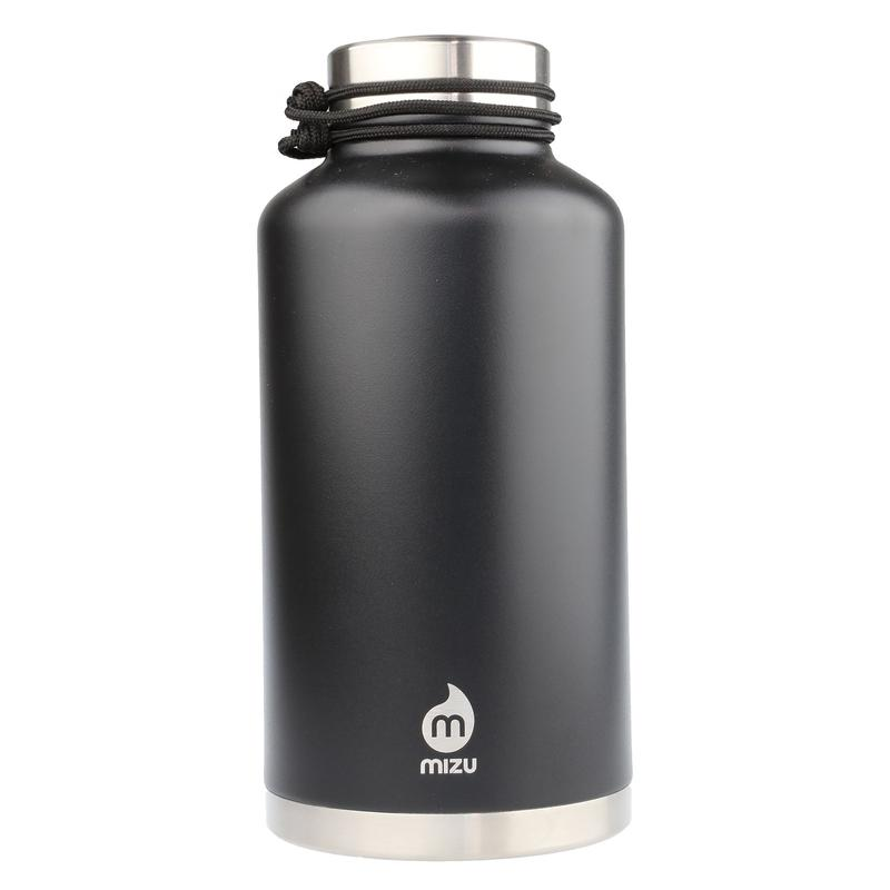 MIZU V20 WIDE Enduro Black / w New Stainless Lid