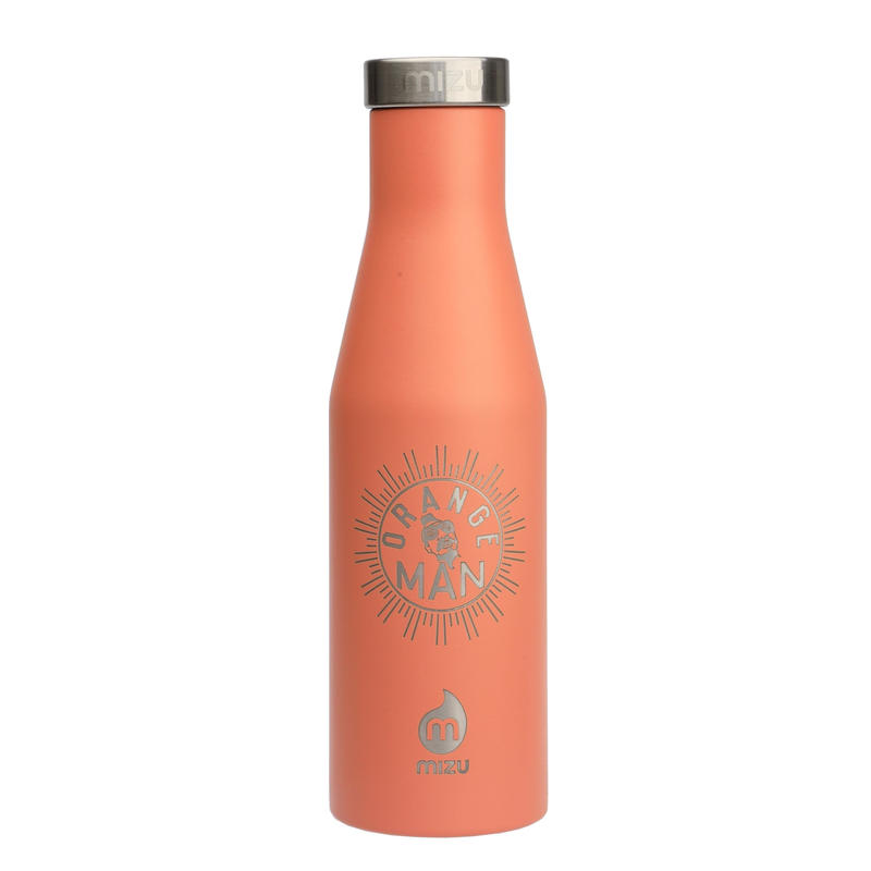 MIZU Orange Man Bottle S4  Enduro Peach