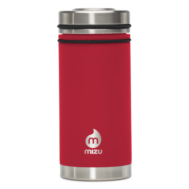 MIZU V5 WIDE Enduro Red / w New Stainless Lid