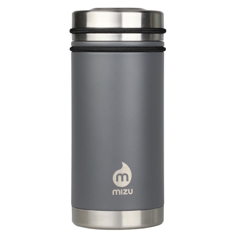 MIZU V5 WIDE Enduro Gray  / w New Stainless Lid