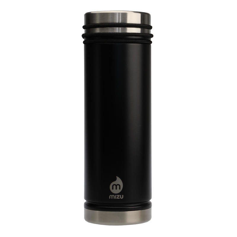 MIZU V7 WIDE Enduro Black / w New Stainless Lid