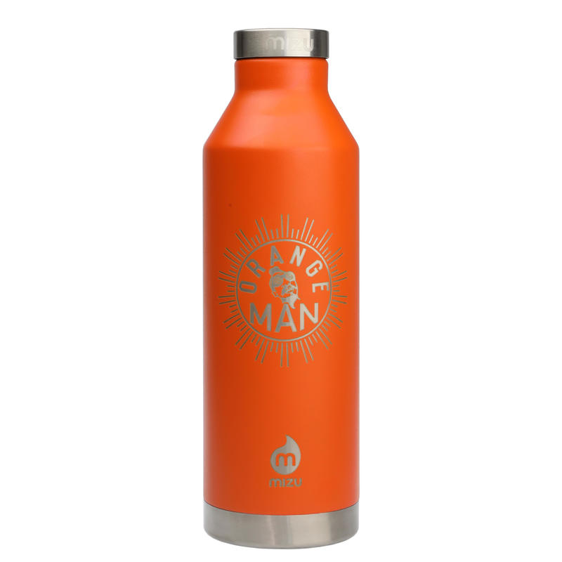 MIZU Orange Man Bottle V8 Enduro Orange