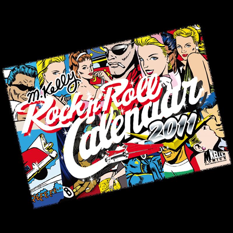 Mケリー・ロックンロール・カレンダー2011