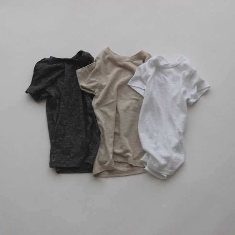 linen marant T-shirt(charcoal 100)