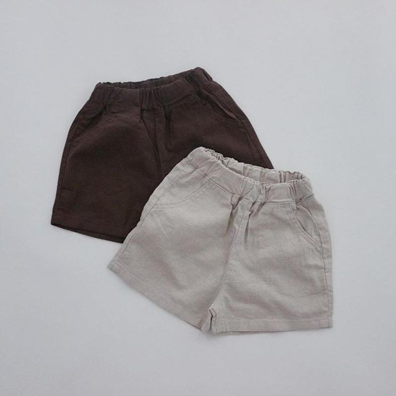 linen like shorts