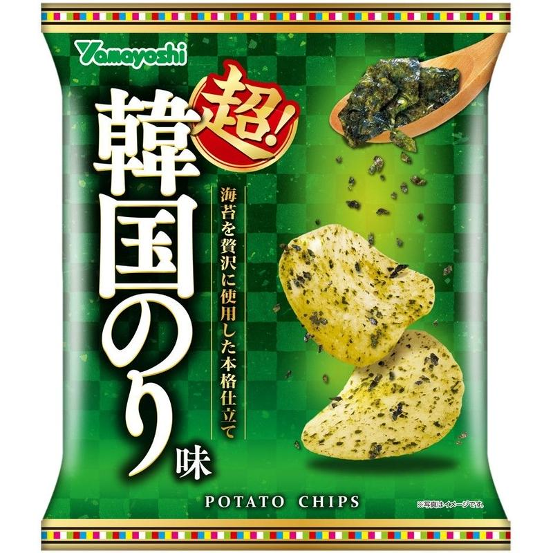 ポテトチップス 超!韓国のり味 60g