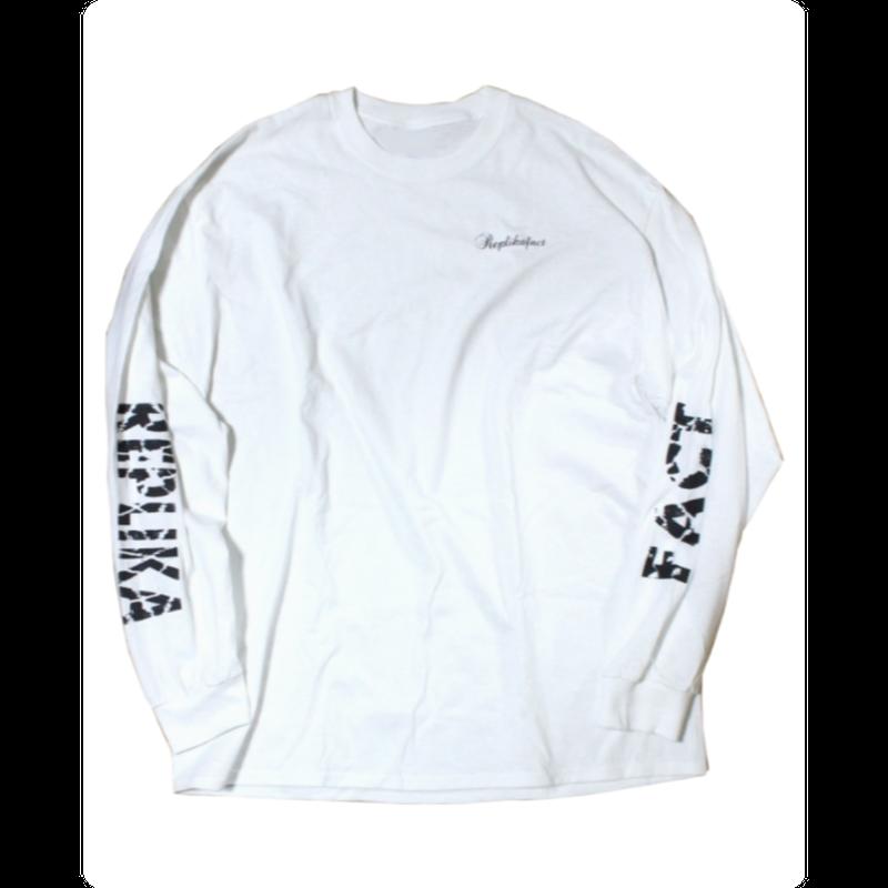 grunge long T-shirts white