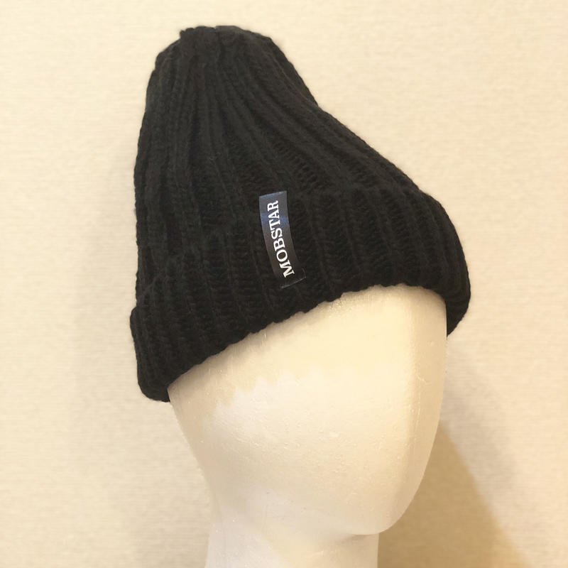 MOBSTAR KNIT CAP BLACK