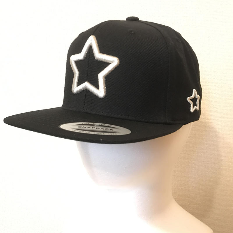 Mobstar cap Silverstar black