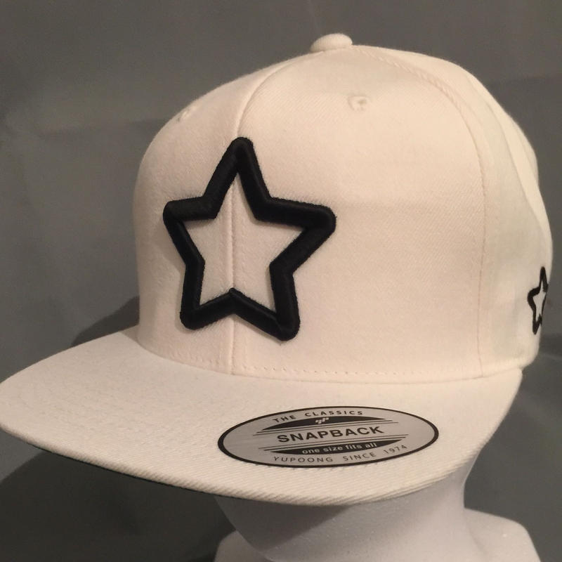 Mobstar cap Blackstar white