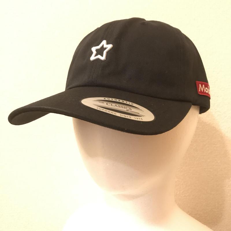 mobstar cap vintage style star black