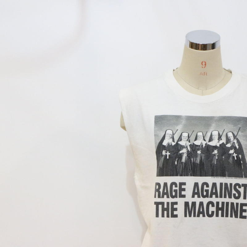 90's RAGE AGAINST THE MACHINE t-shirt [069]