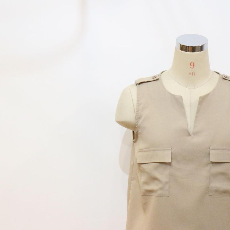 ノースリーブシャツ [190a]
