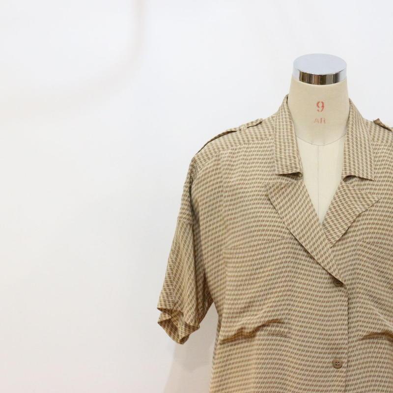 ~90's シルクシャツ [196a]