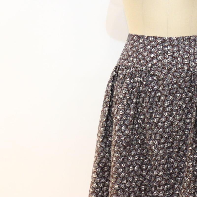 花柄スカート [915a]