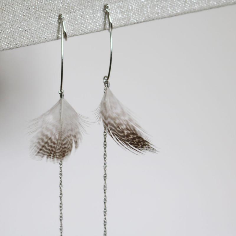 feather Earrings [FP-14]