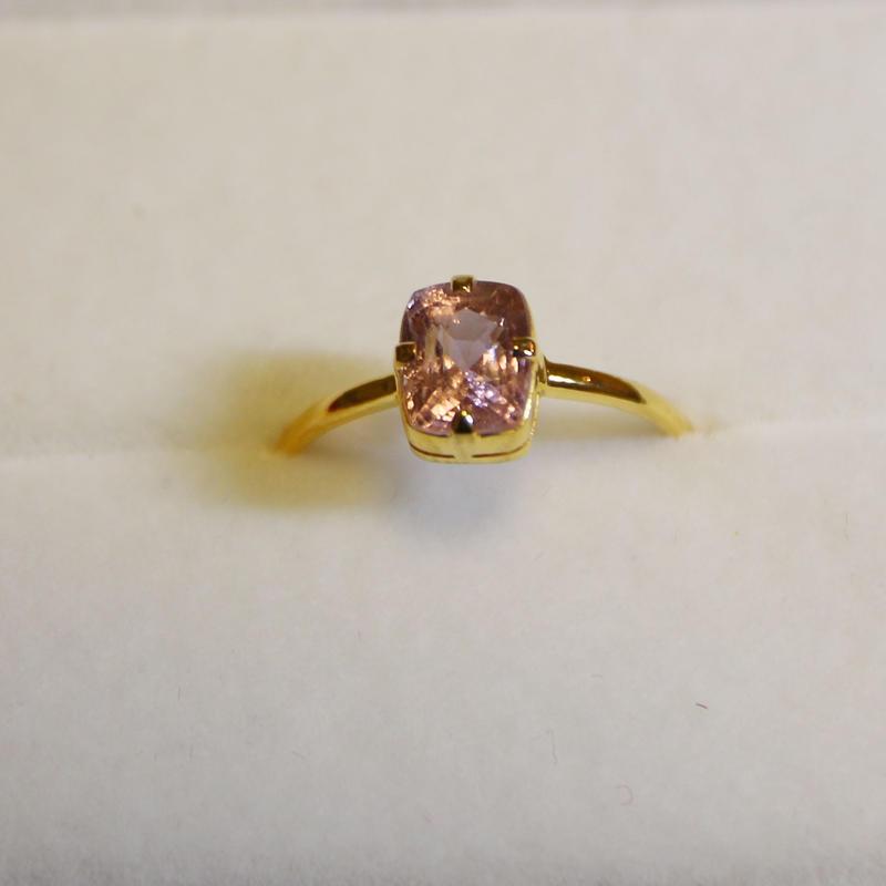 Sakura Spinel Ring